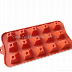 Manufacture Food grade silicone Chocolate mold