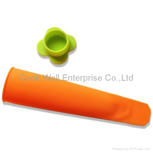 Kithchen tool silicone Ice Pop Maker  3