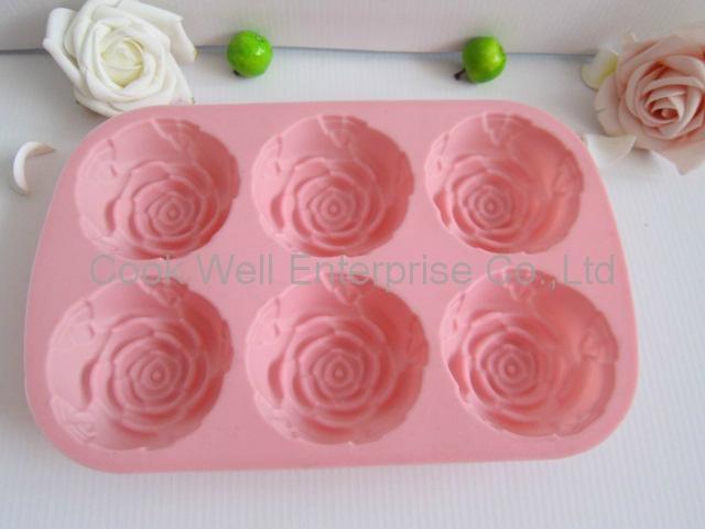 Silicone Cake mould silicnone bakeware cake mould 3