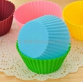 Food grade customized silicone muffin mould 4