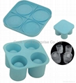 Silicone Ice Shot Tray Silicone ice cup