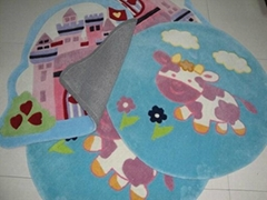 Handtufted acrylic children carpet rug,kids rugs,cartoon carpet rug,kids carpet.