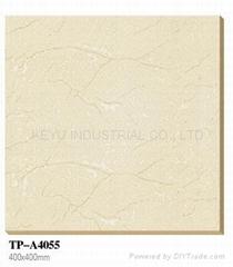 soluble salt ceramic floor tile white color