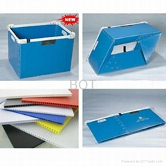 polypropylene plastic corrugated box