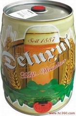 德国啤酒德力士小麦白啤