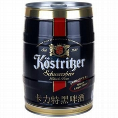 德国啤酒卡力特黑啤酒