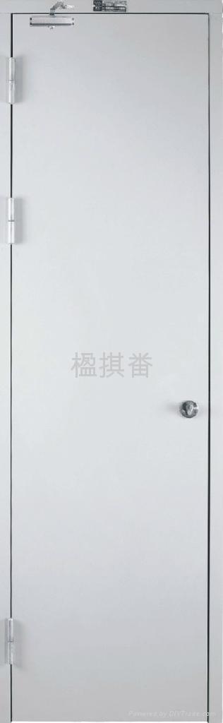 丙級鋼質防火門 1