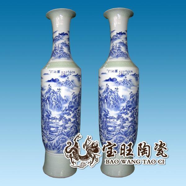 青花瓷大花瓶 4
