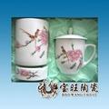 陶瓷茶杯笔筒烟灰缸三件套 3