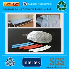 100% polypropylene nonwoven fabric for hygiene material