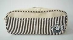 pencil case canvas pencil bag ecofriendly pencil case