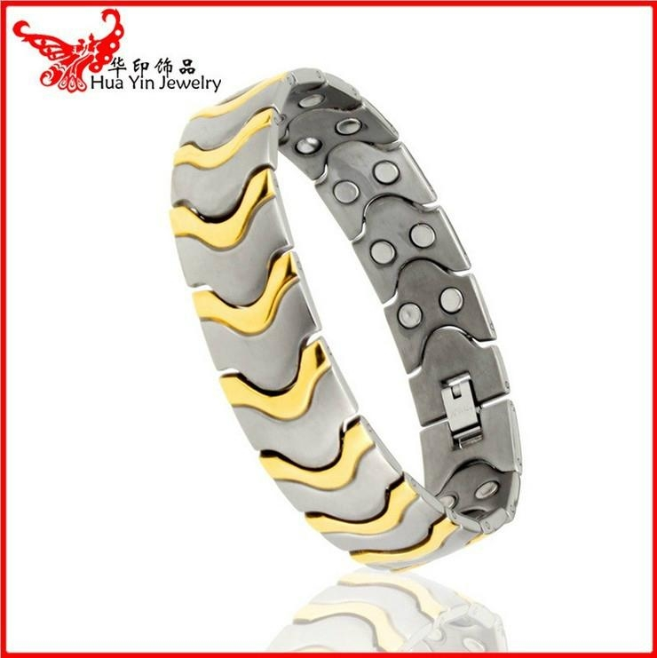 hot sale stainless steel magnetic bracelet 1