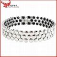 In stock steel fashion bracelet