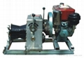 Diesel Engine Powered Winch
