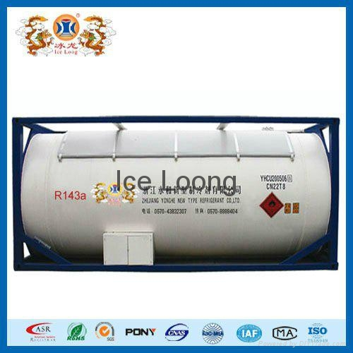 Refrigerant gas R125a with ISO-Tank 5