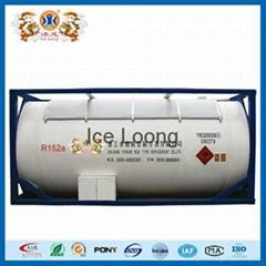 Refrigerant R152a with air friendly