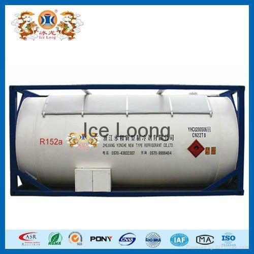 Refrigerant R152a with air friendly 1