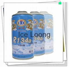 Refrigerant gas R134a with small can package