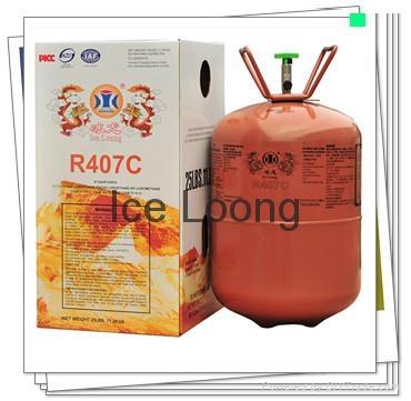 Mixed refrigerant R407c for hot sales 1