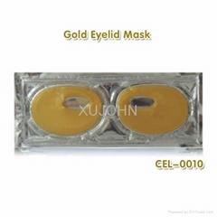 Collagen gel gold eyelid mask