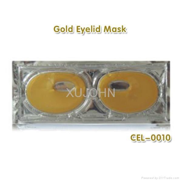 Collagen gel gold eyelid mask  1