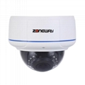 H.264 1080P Vandal-proof Dome IP Camera (ONVIF,RTSP and Multi-Screen Software)