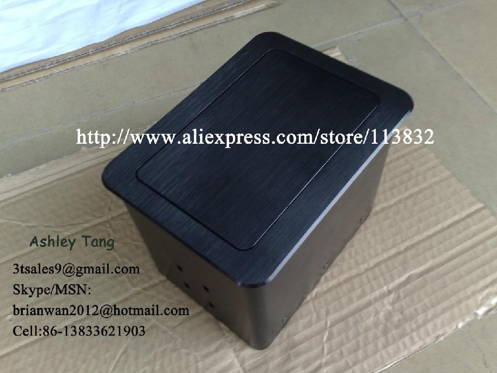 Table Interconnect Box Power Data Grommet With Multimedia Data - Table outlet box