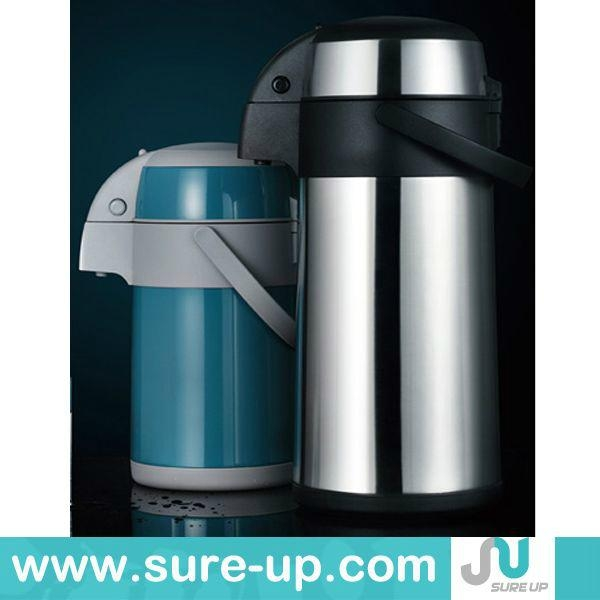 Stainless steel air pump pot, vacuum flask thermos  2