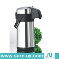 Stainless steel air pump pot, vacuum flask thermos  4
