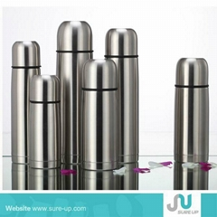 Double layer stainless steel vacuum flask
