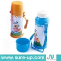 Glass liner vacuum flask for childern