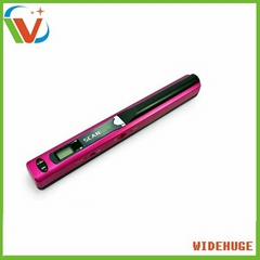 Portable pen scanner for A4 size document/picture