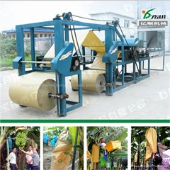 Banana protective bag making machine