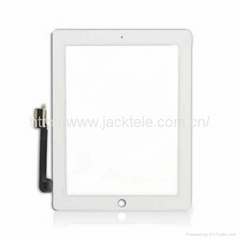 For iPad 3 Touch Screen Digitizer Glass Replacement White Black Original new