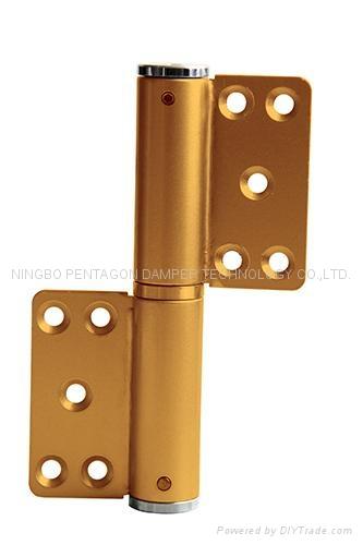 Hydraulic door closer hinge M5 1