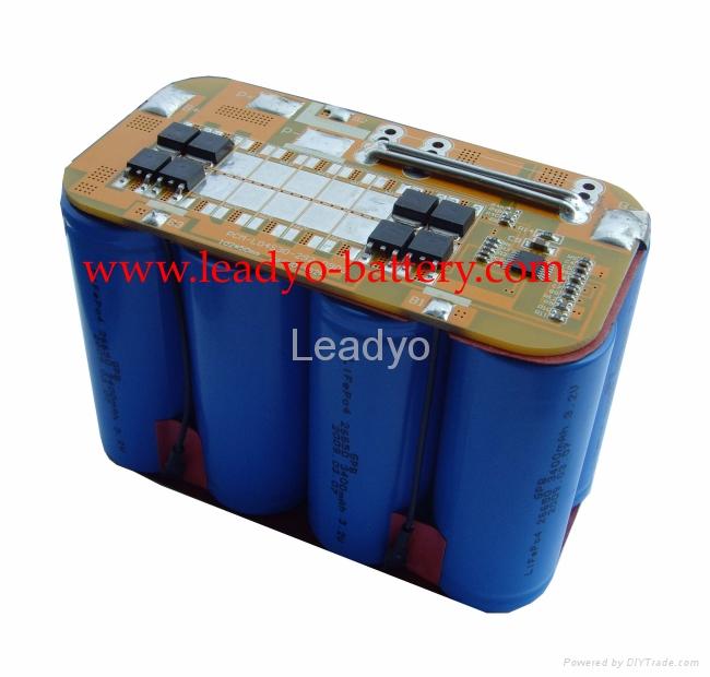 12v Lifepo4 Battery Pack 6400mah For Solar Power System
