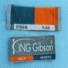 custom high quality and lower price woven labels made in China