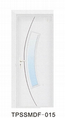 Best Price MDF Door with Frosted Glass