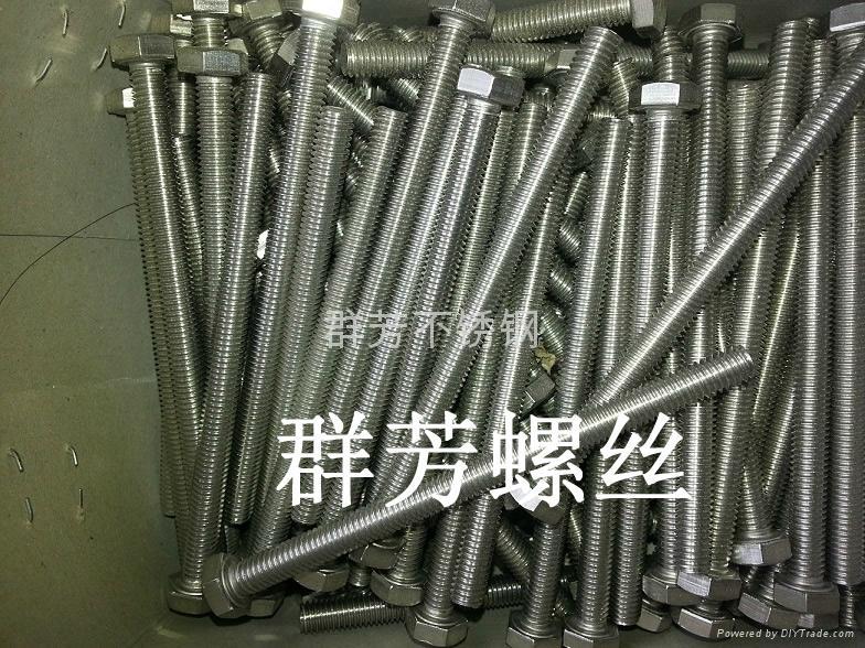 銷售不鏽鋼外六角螺絲 4