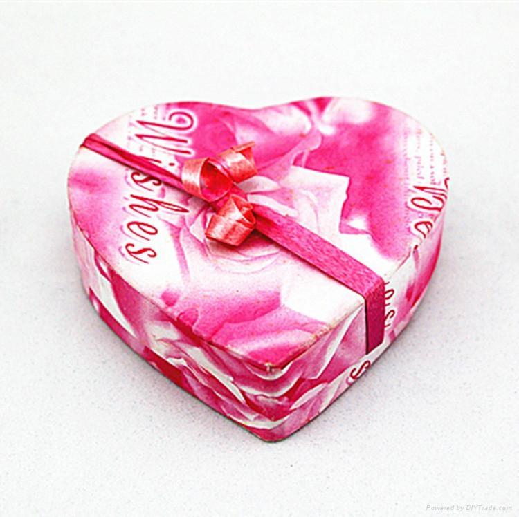 欧式创意结婚喜糖盒心形礼巧克力盒 1