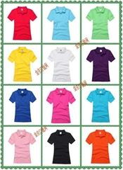 102CBJ女款全棉廣告空白T卹衫