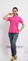 102CBJ女款全棉广告空白T恤衫   2