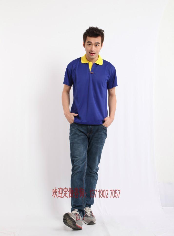 2095SGT新款排汗撞色领T恤衫 3
