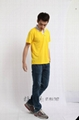 2095SGT新款排汗撞色领T恤衫 5