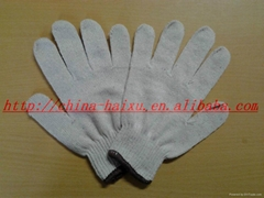 10 gauge cotton knitted gloves