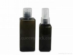 square PET lotion bottle