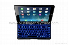 bluetooth keyboard for ipad air with backlight