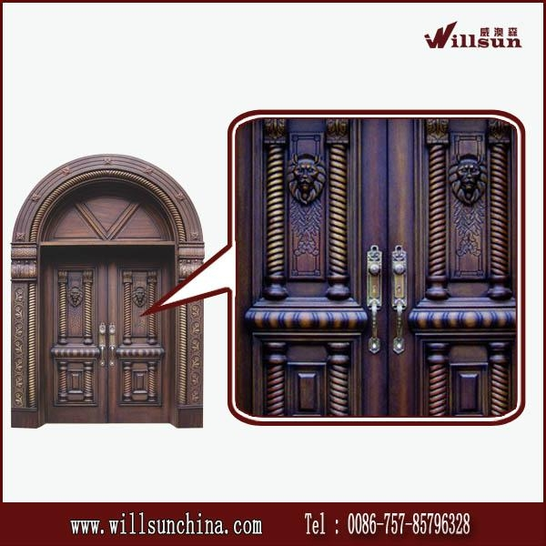 2014 most popular wood outside doors for sales  2