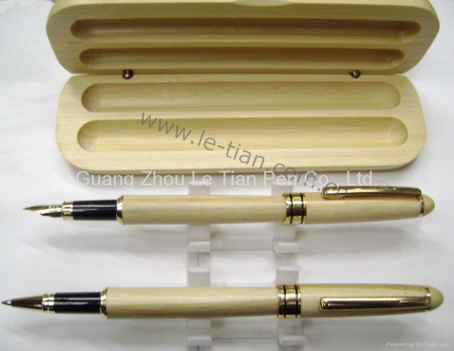 时尚木质圆珠笔 5