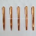 玫瑰金色金属中性笔圆珠笔